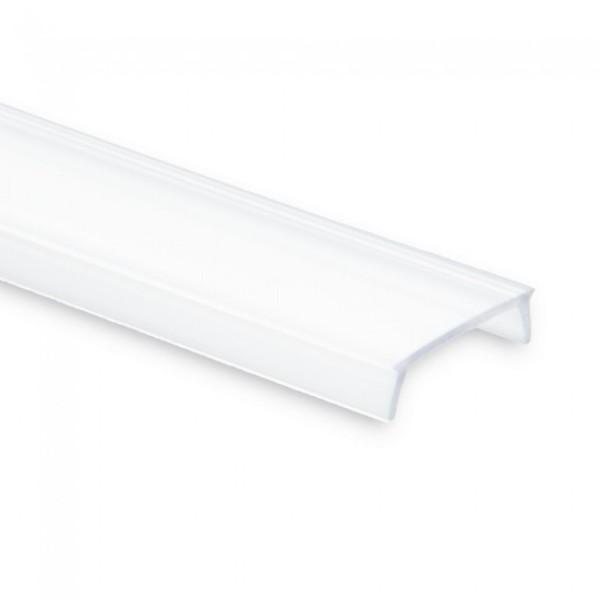 Cover opal satiniert 200 cm für Profil PL1 PL2 PL3 PL8